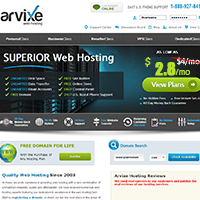 Web Hosting Promotion For Black Friday - Arvixe