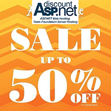 DiscountASP.NET Coupon & Promotion – 50% Off
