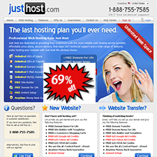 JustHost Coupon – 69% Off Regular Price