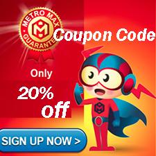HostMetro Coupon Code – 20% Off Web Hosting Service