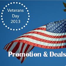 Web Hosting Promotion & Deals For Veterans' Day 2013