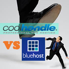 CoolHandle VS BlueHost – Shared Web Hosting Comparison