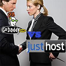 GoDaddy VS JustHost – Which is the Better Choice for Personal Sites?