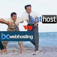 ixWebHosting VS JustHost – Budget Web Hosting Comparison