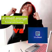A Small Orange VS BlueHost – Shared Hosting Comparison