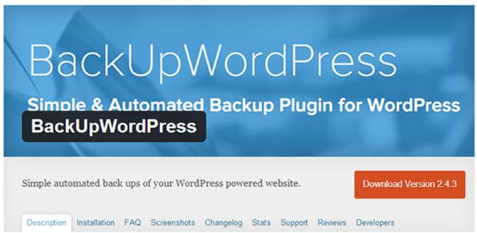 Best Free WordPress Backup Plugins