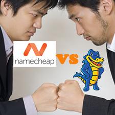 NameCheap VS HostGator on Shared Linux Hosting Service Quality