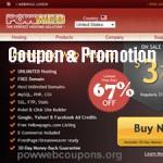 PowWeb Coupon & Promotion