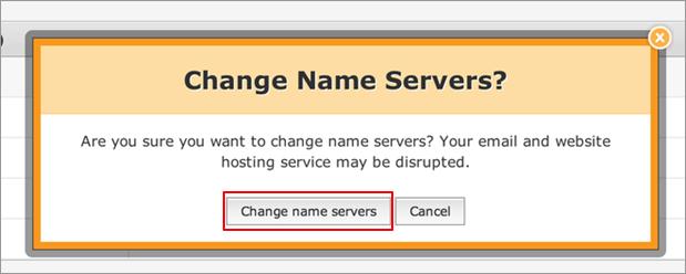 change name server