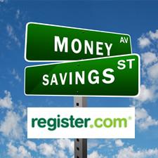 Register.com Coupon for Shared Hosting