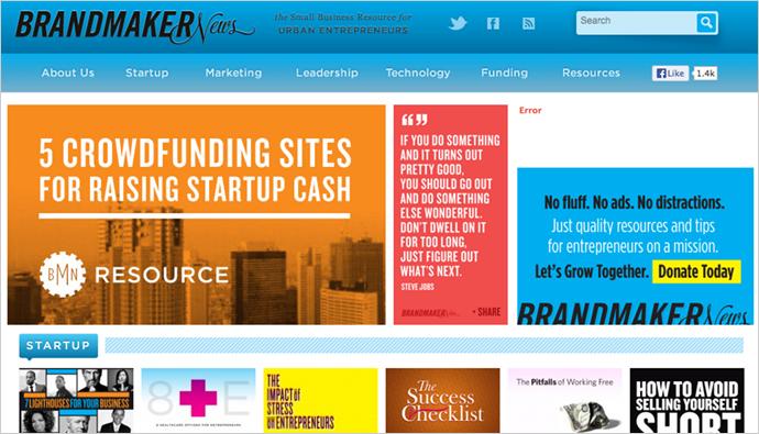best wordpress business websites brandmakernews