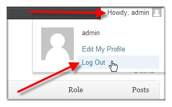 Change WordPress Username via WordPress Dashboard - Step 3