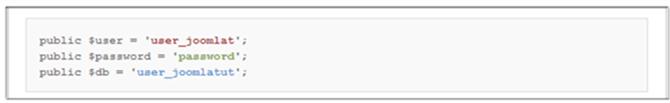 Backup Joomla Database SSH 1