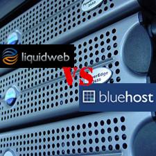 Liquidweb VS BlueHost on Shared Hosting Service
