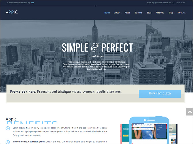 Best WordPress Technology Themes - Appic
