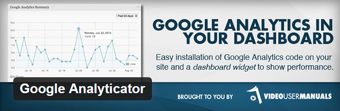 Best Google Analytics WordPress Plugins - Google Analyticator