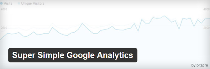 Best Google Analytics WordPress Plugins - Super Simple Google Analytics