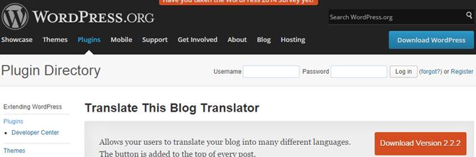 translate this blog translator