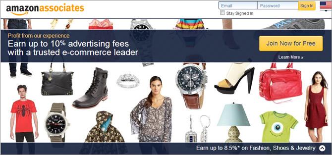 Google Adsense alternatives - Amazon Associates