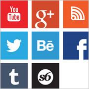 have socialmedia buttons