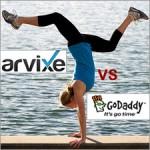 Arxive VS GoDaddy – Linux Hosting Comparison