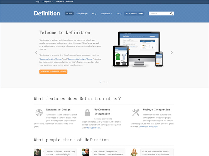 Best WordPress Technology Themes - definition