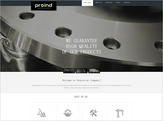 Best WordPress Technology Themes - proind