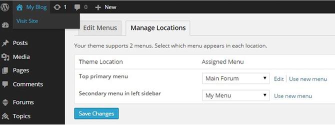 add more possibilities to custom menu
