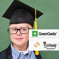 GreenGeeks VS GoDaddy on Linux Web Hosting