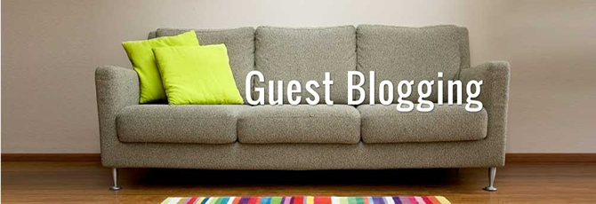 search guest blogging opportunities via community