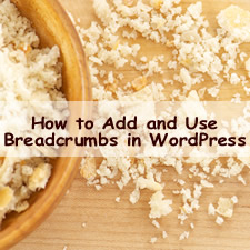 How to Add and Use Breadcrumbs in WordPress