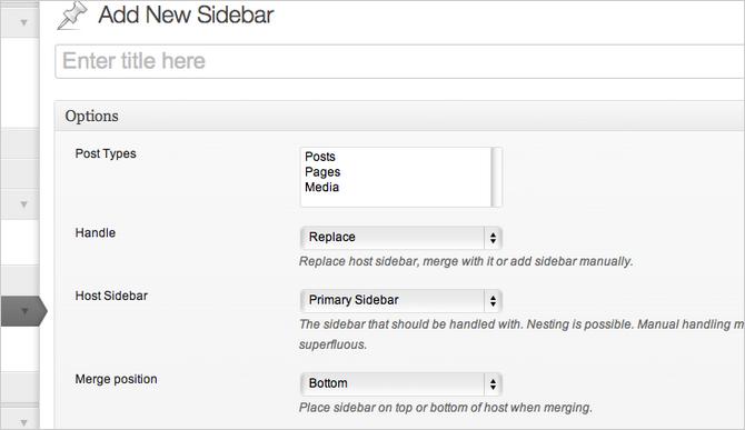 Content-Aware Sidebars