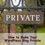 How to Make Your WordPress Blog Private & When You Should Do That