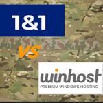 1and1 VS WinHost – Windows Hosting Rating & Comparison
