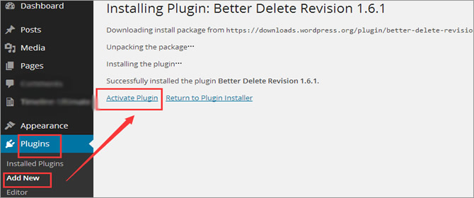 Post Revisions - Enable Better Delete Revision